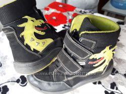 Термо ботинки RICOSTA, деми-зима с драконами, стелька 21, 5 см