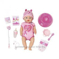 Новые. Оригинал. Кукла Baby Born серии Нежные объятия 824368 малышка