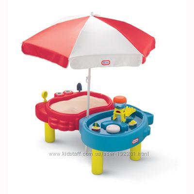 Песочница-стол Little Tikes ТИХАЯ ГАВАНЬ для песка и воды, с аксессуарами
