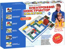 Конструктор Знаток ZNATOK 320 схем REW-K002