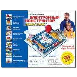 Электронные конструкторы ЗНАТОК для детей и взрослых. Большой выбор