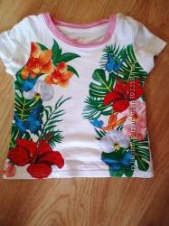Яркие футболки, состояние новых