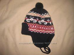 шапка зимняя мальчику 48-50см