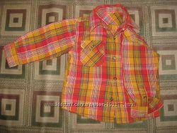 рубашки, футболки 1-4 года