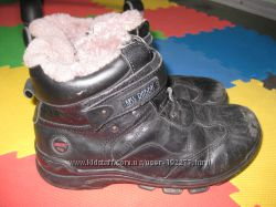 ботинки кожа 23, 5-24см