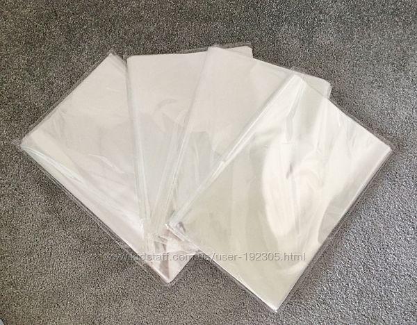 Прозрачные пакеты для упаковки выпечки
