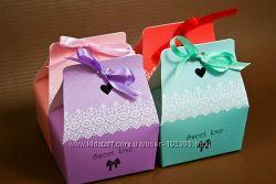 Коробочки для конфет ручной работы, подарков, сувениров.