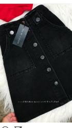 продам джинсовую юбку А-силуэта-36р.