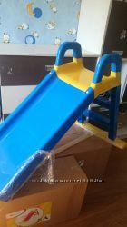 Продам новую детскую горку арт 0140 Тм долони синяя с желтым