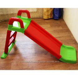 Продам новую детскую горку арт 0140 цвет красная с зеленым
