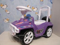 Продам машинку толокар Джип Хамер фиолетового цвета