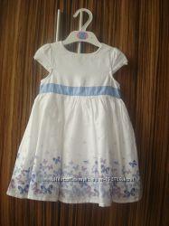 Нарядное платье для девочки. 12-18  мес.