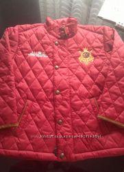 Куртка polo Ralph Lauren стеганная стильная и модная унисекс на 6-7 лет