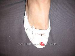 Туфли кожа белые