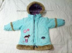 Зимняя куртка, 2-4года, 92см