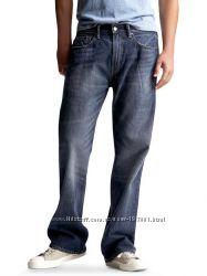 Геп. Классические прямые не узкие  джинсы. Большой размер и рост