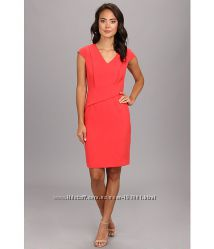Платье Adrianna Papell. Премиум качество. Цвет коралловый.