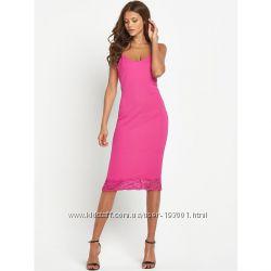 Милое платье с кружевом