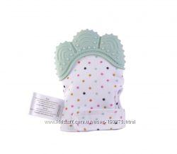 Прорезыватель-перчатка Baby Team 4091 бирюзовый