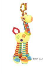 Мягкая игрушка-подвеска на кроватку Baby Team Жираф 8531