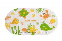 Антискользящий коврик для ванной Baby Team
