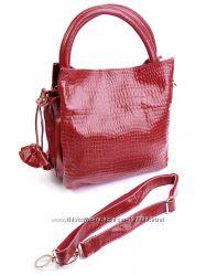 замшевые-кожанные сумки женские СП