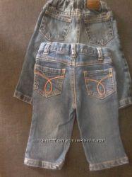 Джинсы маленьким стиляжкам Gap,  Calvin Klein, Next 6, 9, 12 мес.