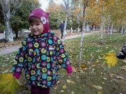 Наша любимая Reima-tec куртка и комбинезон, р. 92