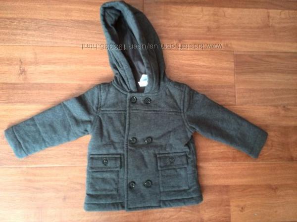 Стильне 2х-бортне пальто Gymboree для хлопчика. Ціна - шара, ще й знижена