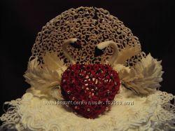 Свадебные торты и не только, на заказ, в Киеве