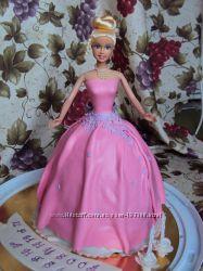 Торт кукла, детские торты на заказ в Киеве