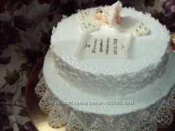 Торт на крещение. Детские, домашние торты.