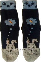 Плотные махровые носки с тормозами