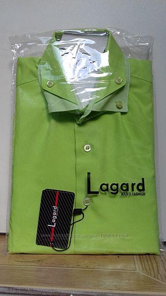 Детская рубашка LAGARD с красивой отделкой воротника