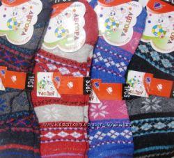 Теплые детские носки Махра