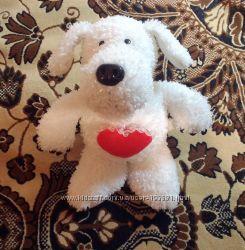 Мягкая игрушка - Собака с сердечком