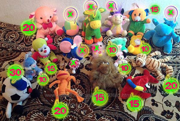 Мягкие игрушки недорого