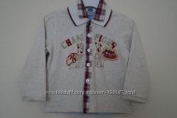 Рубашечка chicco, бу р. 86 см-1, 5 г