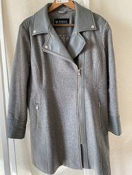 Пальто Guess, размер XXL, светло-серое