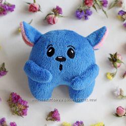 Игрушка ручной работы синий