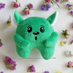 Игрушка ручной работы зеленый