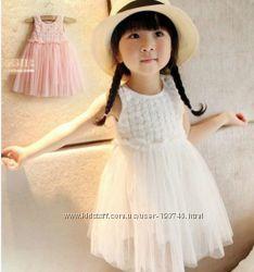 Нарядное платье 80-120 хлопок