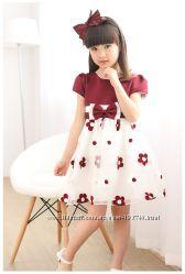 АКЦИЯ Изумительное нарядное платье на торжество 120-150см