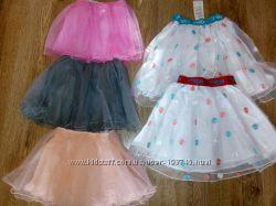 Отличная фатиновая юбка 2-12лет на хлопк. подкладке