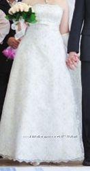 Свадебное невенчаное платье