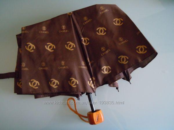 Зонт  Chanel, Burberry, Gucci, Louis Vuitton, Брендовые зонтики. В наличии