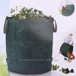 Мешок 200 л с ручками для листьев, веток, мусора