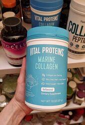 Vital Proteins, Морской коллаген из дикой рыбы, без добавок, 221 г