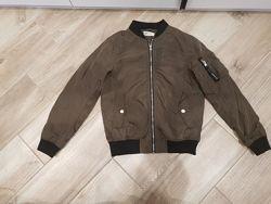 Куртка бомбер 10-11лет