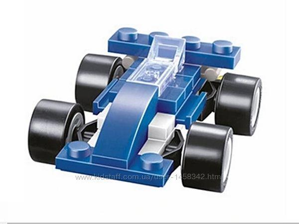 Конструктор мини набор гоночный автомобиль